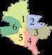 Harta sectoarelor din Bucureşti