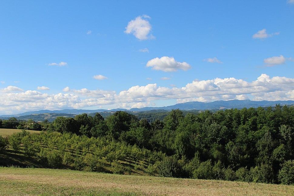 Selo Beomužević - opština Valjevo - zapadna Srbija - Panorama 1