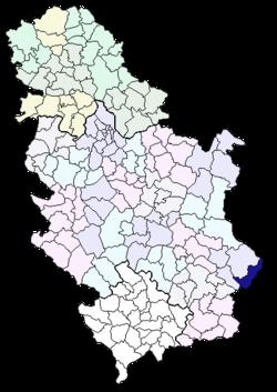 dimitrovgrad mapa srbije Општина Димитровград — Википедија, слободна енциклопедија dimitrovgrad mapa srbije