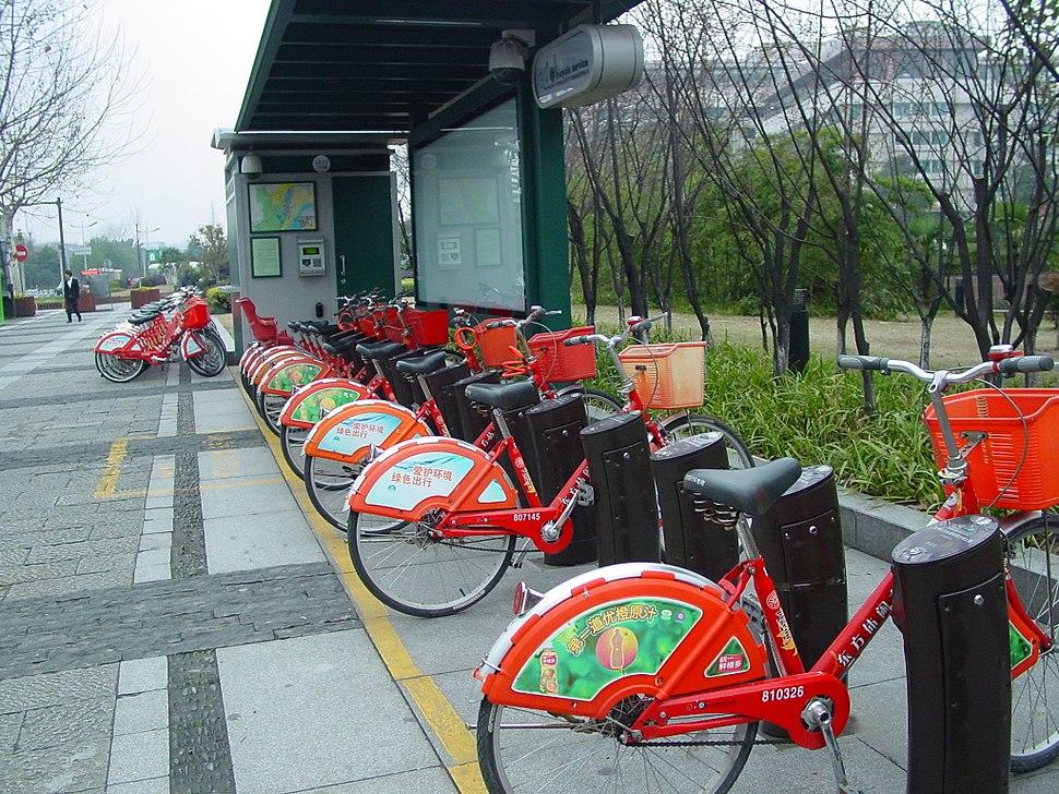 Service bicyclette hangzhou zhongguo
