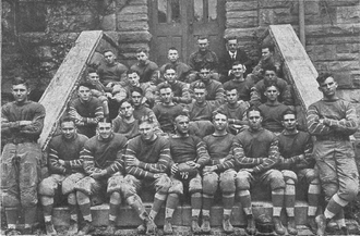 1918 Sewanee Tigers football team - Image: Sewanee Tigers football team (1918)