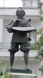 Estatua de Zurbarán en Sevilla