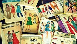 Sewing machine - Vintage sewing patterns