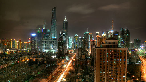 Shanghai-pudong night