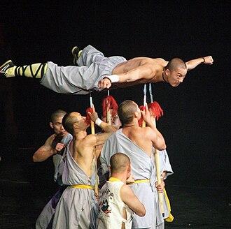 Shaolin Kung Fu - Shaolin monks demonstrate kung fu.