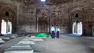 Sher Shah Suri - The Tomb ( Covered in Green )