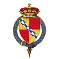 Shield of arms of Charles Sackville-Germain, 5th Duke of Dorset, KG, PC.png