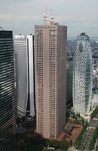 Taisei Corporation - Image: Shinjuku Center Building 2008