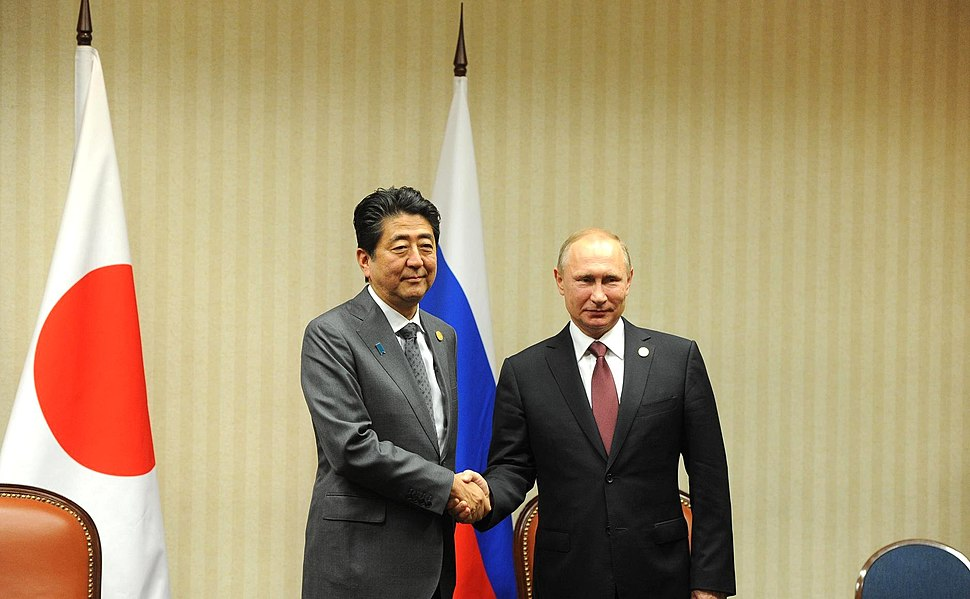 Shinz%C5%8D Abe and Vladimir Putin (2016-11-20) 01