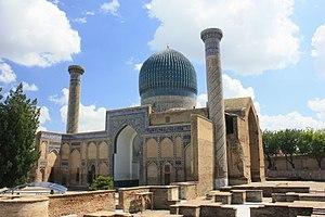 Gur-e-Amir - Exterior view of the Gur-e Amir
