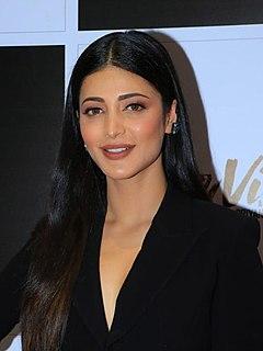 Shruti Haasan Indian actress and singer