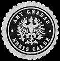 Siegelmarke Amt Gnadau - Kreis Calbe W0285775.jpg
