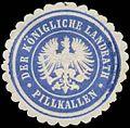 Siegelmarke Der K. Landrath Pillkallen W0387674.jpg