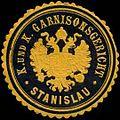 Siegelmarke K. und K. Garnisonsgericht Stanislau W0317180.jpg