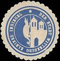 Siegelmarke Kleines Insiegel der Stadt Wittenburg (Drache) W0355715.jpg