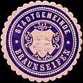 Siegelmarke Stadtgemeinde Braunseifen W0317681.jpg