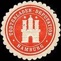 Siegelmarke Todtenladen - Deputation - Hamburg W0237430.jpg