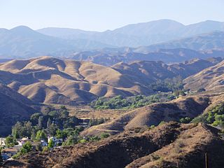 Sierra Pelona Ridge Mountain ridge in California, United States