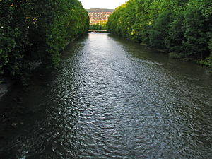 Sihlfeld - Sihl river in Sihlfeld quarter