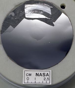 Silicon wafer with mirror finish