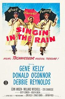 <i>Singin in the Rain</i> 1952 American musical-romantic comedy film