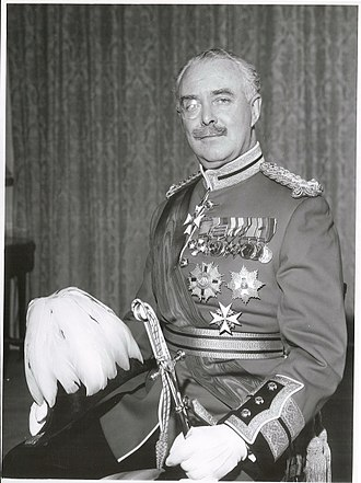 Bernard Fergusson, Baron Ballantrae - Image: Sir Bernard Fergusson Governor General, 1963 (21764934845)