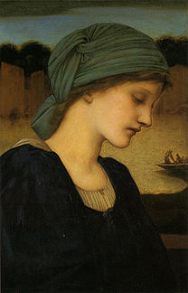 BURNE-Jones Edward Flamma Vestalis 1896