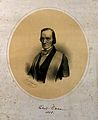 Sir Richard Owen. Lithograph by R. Hoffmann, 1857. Wellcome V0004394.jpg