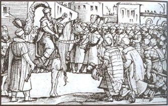 Skanderbeg engraving
