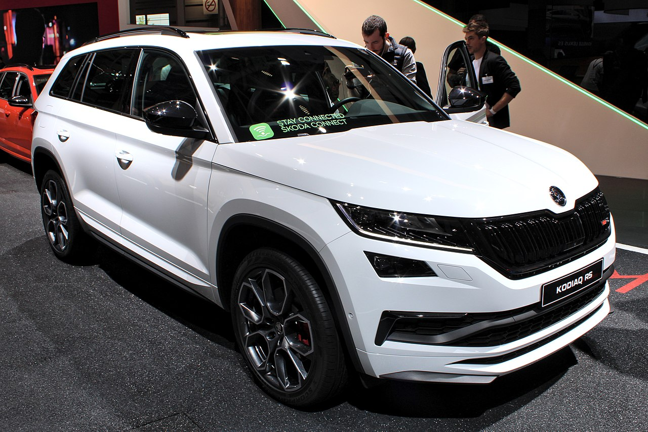 file skoda kodiaq rs paris motor show 2018 img. Black Bedroom Furniture Sets. Home Design Ideas