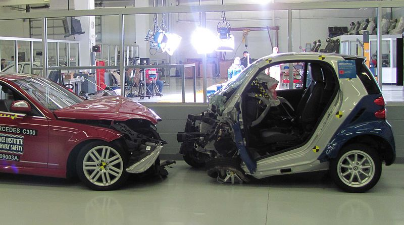 Smart Car Crash Test Video