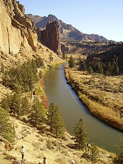 Crooked River im Smith Rock State Park