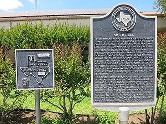 Smithville, Texas - Image: Smithville TX Marker