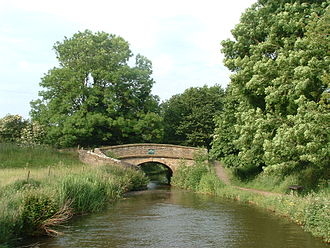 Macclesfield Canal - Roving bridges on the Macclesfield Canal are known locally as Snake bridges.