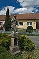 Socha božského srdce Páně, Buková, okres Prostějov - pohled z blízka.jpg