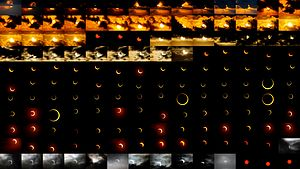 Solar eclipse of May 20, 2012 - Image: Solar eclipse 2012 May 21, Taiwan