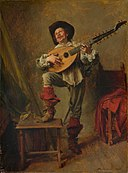 Soldier Playing the Theorbo MET DP140947.jpg
