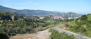 Muskiz - View from Gallarta