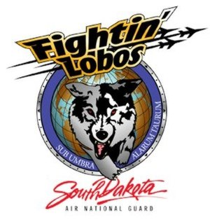 South Dakota Air National Guard - Image: South Dakota Air National Guard Fightin Lobo patch
