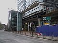 South Quay DLR stn entrance look west.JPG