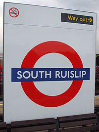 South Ruislip stn tube roundel.JPG
