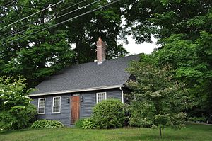 National Register of Historic Places listings in Southbridge, Massachusetts - Image: Southbridge MA Ammidown Harding Farmhouse