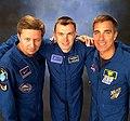 Soyuz MS-16 crew members during training in Houston.jpg