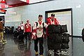 Special Olympics World Winter Games 2017 arrivals Vienna - Canada 04.jpg