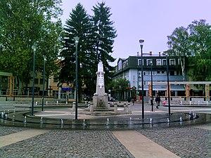 Požega, Serbia - Požega town center