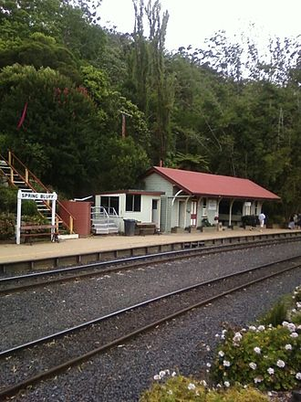 Spring Bluff, Queensland - Spring Bluff railway station