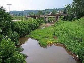 Spring Creek (Little Kanawha River) - Spring Creek in Spencer in 2006
