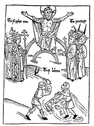 Estates of the realm - The First Estate (Fr. premier état) was the clergy.