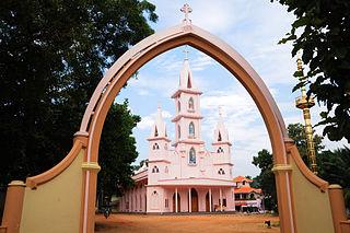 St. Antonys Church, Chemmanvilai Church in Appattuviali, India