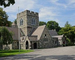 Church of St. Barnabas (Irvington, New York) Historic Episcopal church modeled on English original